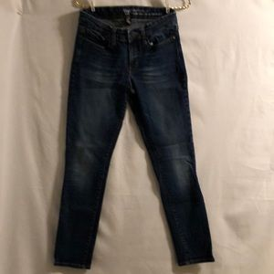 Gap Skinny Roll-Up Jeans Size 2